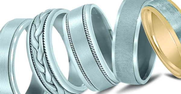 Wedding bands available at Venus Jewelers in Somerset, NJ