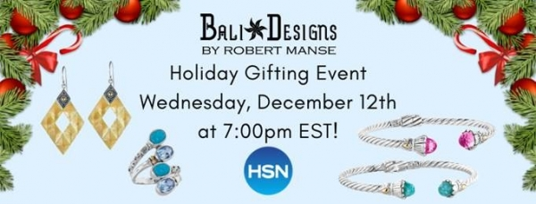 Robert Manse Designs jewelry on HSN - great gift ideas.