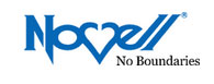 Novell No Boundaries logo.