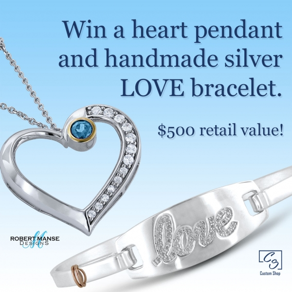 A chance to win free jewelry.