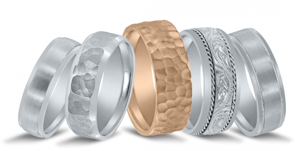See these wedding bands at Diamonds Direct Birmingham.