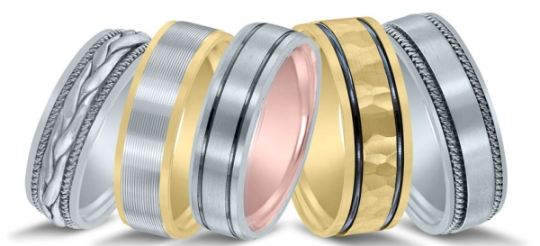 Wedding bands at Van Cott jewelers