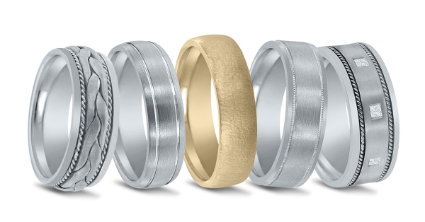 Novell American made wedding bands