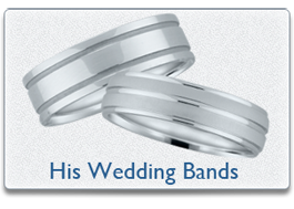 Novell mens wedding bands