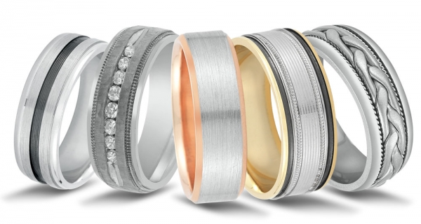 Wedding bands at Charleston Diamonds Direct