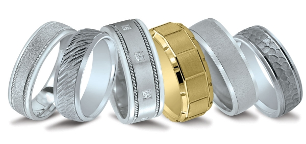 Novell wedding bands at Diamonds Direct in Charlotte, NC