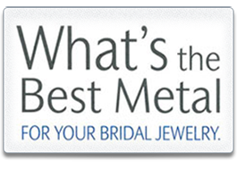 Bridal Jewelry Metals