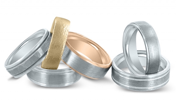 Novell wedding bands available at Diamonds Direct Summer Showcase.