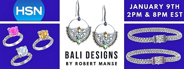 Balinese jewelry by Robert Manse Designs