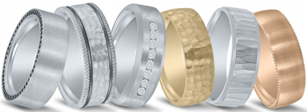 Wedding bands available at Diamonds Direct