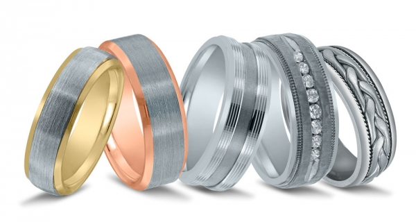 Wedding bands by Novell