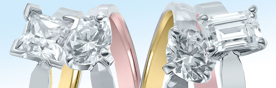 New Inside Out Engagement Rings