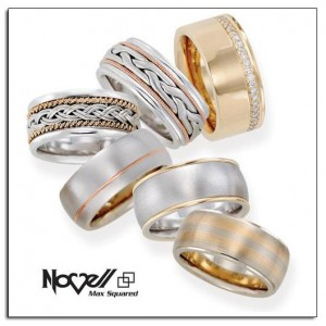 Max Squared wedding bands - the BIG and BOLD wedding band.