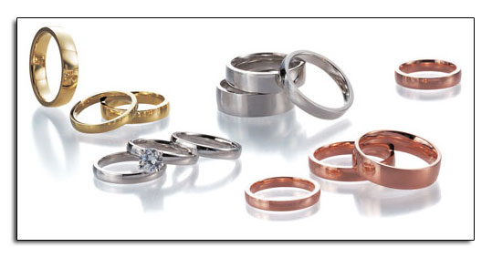 "N'oval wedding bands are the ""plain"" wedding bands with a twist."