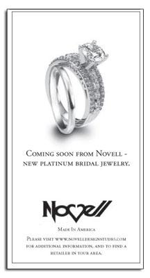 New platinum engagement ring makes its debut in LA Times. Platinum lasts a lifetime.