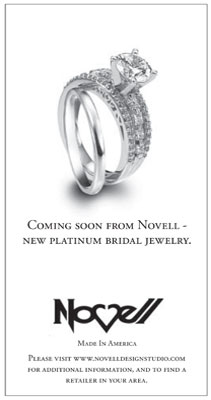 New engagement ring featured in LA Times.