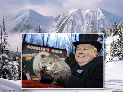 Groundhog Day - more winter.