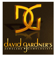 Logo for David Gardners Jewelers.