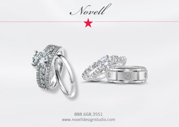 Novell wedding bands.
