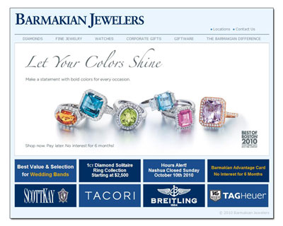 Buy Novell wedding bands at Barmakian Jewelers.