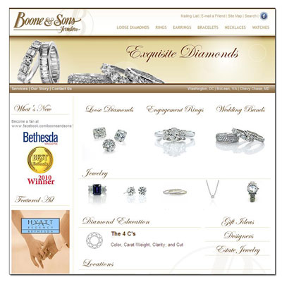 Buy Novell wedding bands at Boone and Sons.