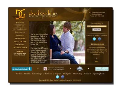 David Gardner's Jewelers.