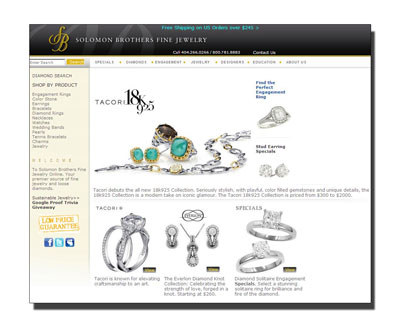 Buy Novell wedding bands at Solomon Brothers.