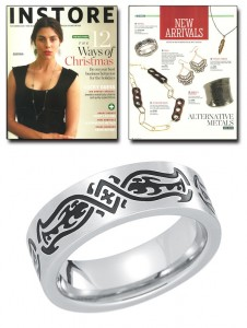 Stainless steel ring - TATU ring.
