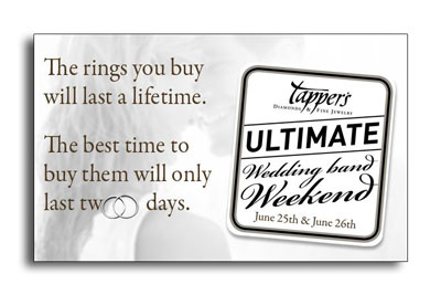 Tapper's Ultimate Wedding Band Weekend