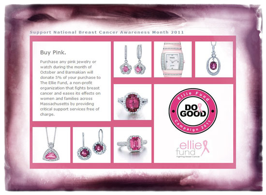 Barmakian Jewelers - breast cancer.
