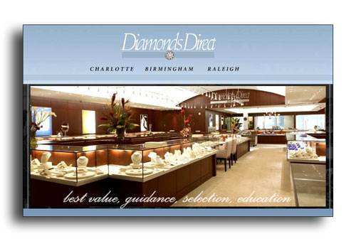 Diamonds Direct jewelry store.