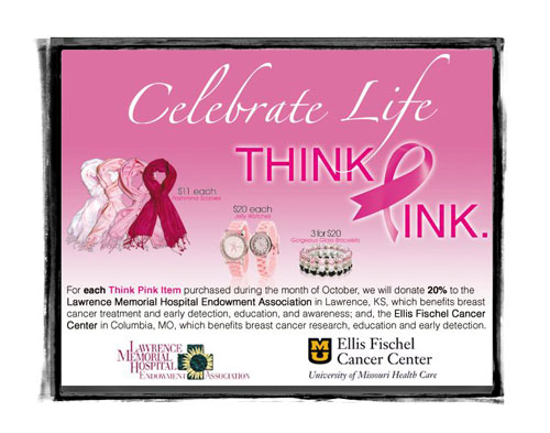 Think Pink with Hurst Fine Diamonds.