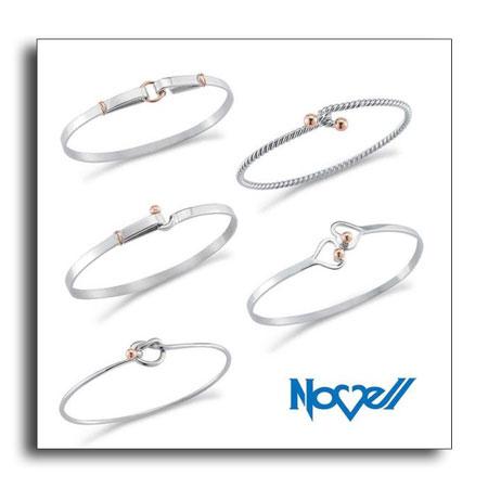 Palladium bracelets.