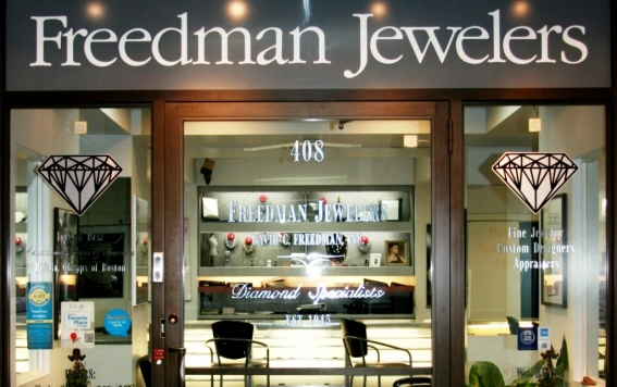 Freedman Jewelers in Boston.