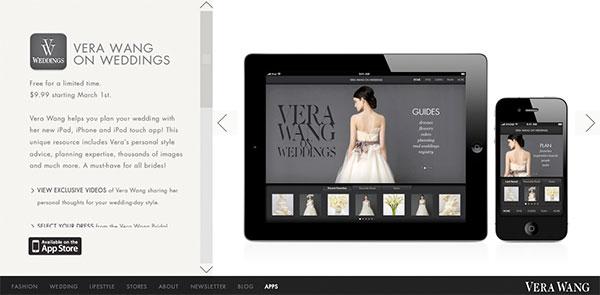Vera Wang Wedding App