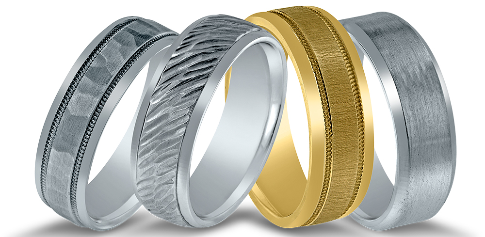 Novell wedding rings at Diamonds Direct