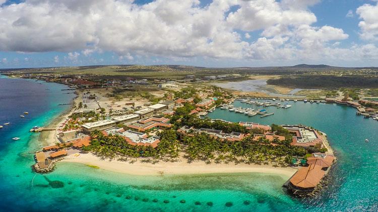 Caribbean honey destinations - Harbour Village Bonaire