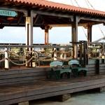 Balandra benches at Harbour Island in Boniare
