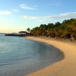 Beach view found at one of the great honeymoon destinations in Bonaire.