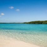 Great honeymoon destinations - secluded beach in Bonaire.