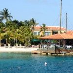 Resort view at Harbour Village in Bonaire