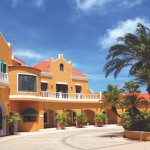 Resort view of Harbour Village - one of the best homneymoon destinations in the Caribbean.
