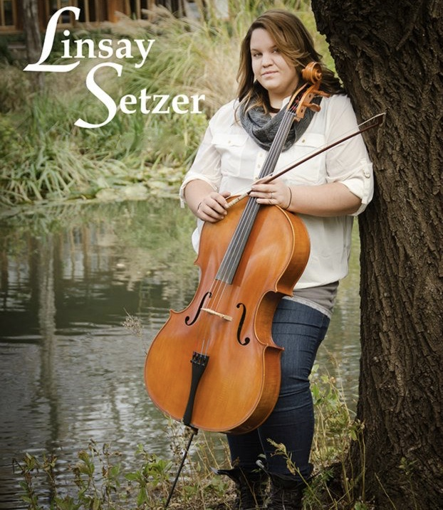 Wedding music cello player Linsay Setzer