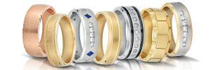 Novell wedding bands