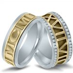 Wedding bands with wedding date