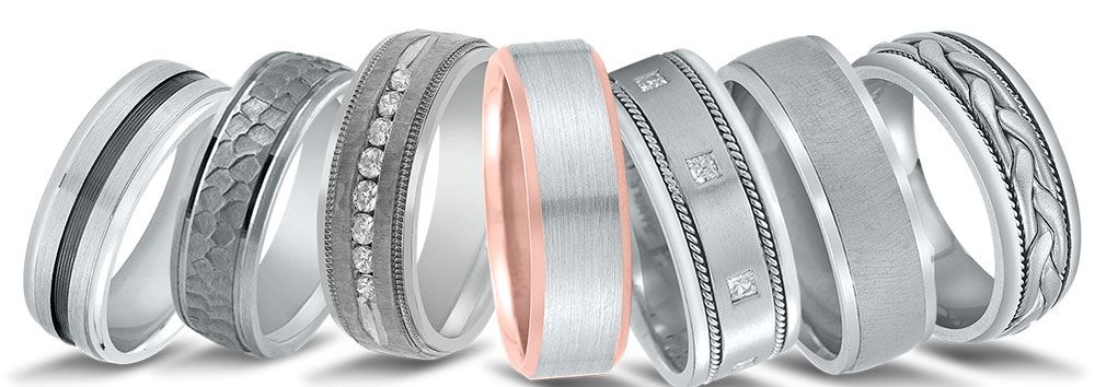 Novell wedding bands