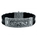 Holiday special - men's dragon bracelet.