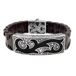 Holiday special - men's handmade bracelet .
