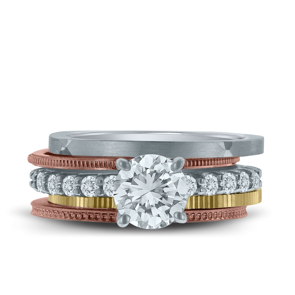 Stackable Rings Archives - Novell Wedding Bands