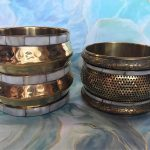 Available on Etsy - Handmade brass cuff bracelets